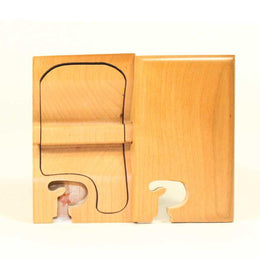 Basic Initial Key Puzzle Box P - Boxology