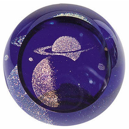 Celestial Series Paperweight Saturn
