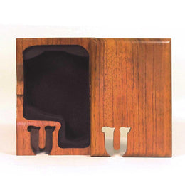 Basic Initial Key Puzzle Box U - Boxology