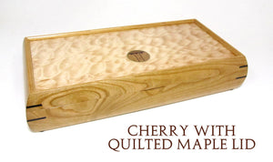 Valet Box With Rounded Sides