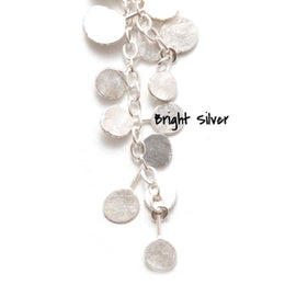 Zuzko Coined Necklace Bright Silver