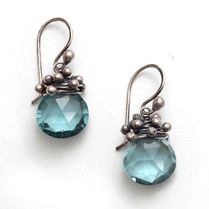 Zuzko Swarm Earrings Aqua Quartz