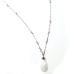 Zuzko Swarm Necklace Moonstone