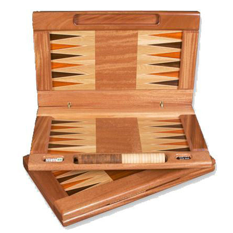 handmade wooden Backgammon set