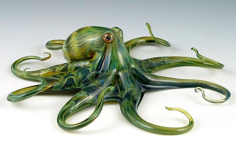 Dichroic Glass Octopus