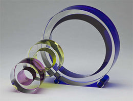 Circle of Light Sculpture Shardz by Fay Miller | An American Craftsman