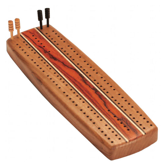 Cribbage Board In Cherry Wood