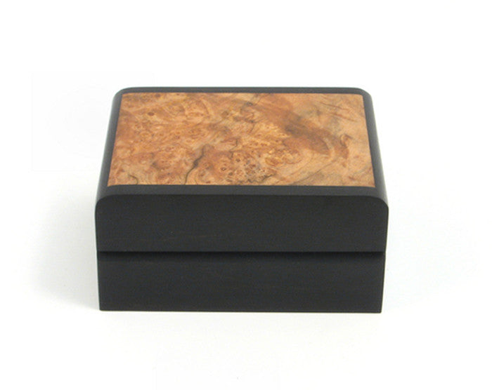 Small Ebony Sides Desk Box
