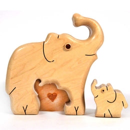 Elephants in Maple