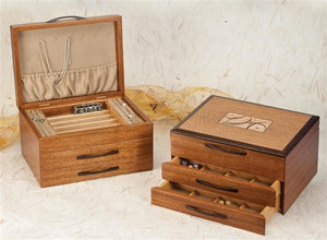 Heartwood Montana Designer Collection 2 Drawer Jewelry Box - Boxology