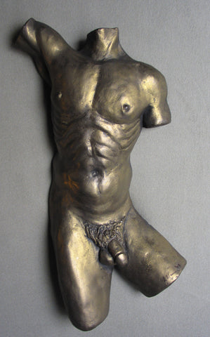 Male Torso wall mounted