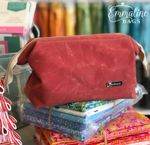 Nautical Red Retreat Bag Emmaline Bags
