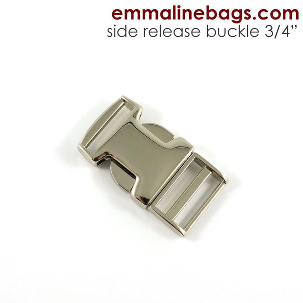 "Side Release Buckle:  3/4"" (18 mm)"