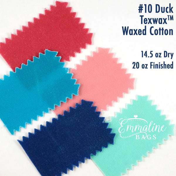 #10 Duck Waxed Canvas - 20 oz/square yard - TexWax™ Finish