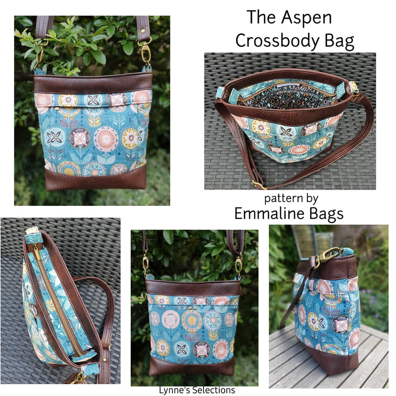 Paper Pattern - The Aspen Crossbody Bag