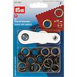 "Eyelets 11 mm (7/16"") with washers (15 pack)"