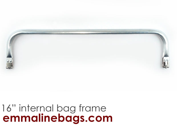 "Internal Tubular Bag Frame:  (16"" x 3.75)"