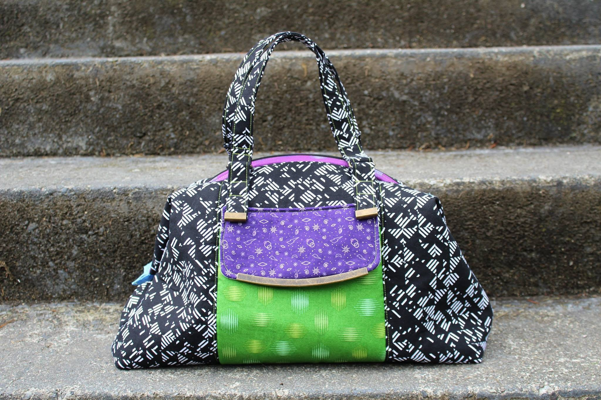 The Castell Day Bag Pdf Pattern Emmaline Bags