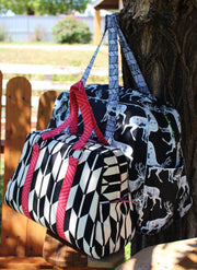 Vivian Handbag & Traveler by Swoon Sewing Patterns (Printed Paper Pattern)