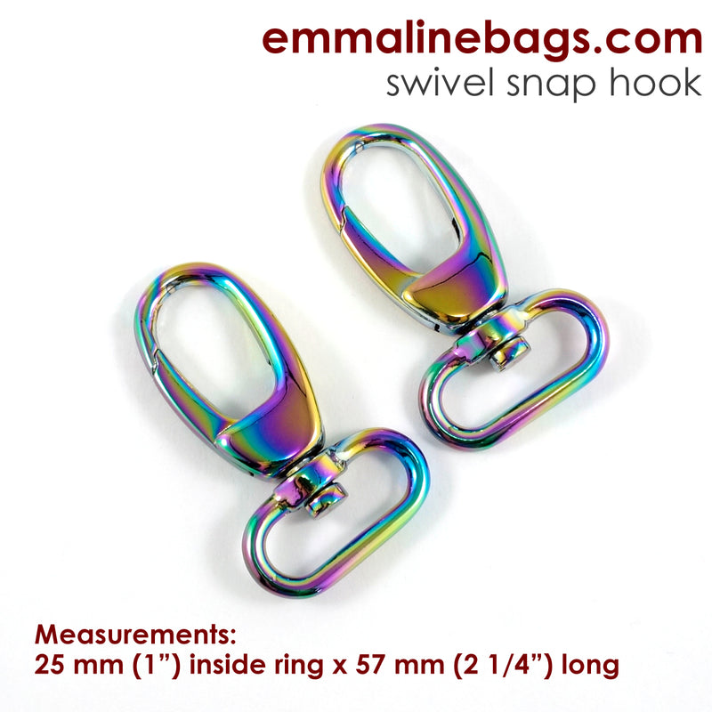 Swivel Snap Hook:  Designer Profile (2 Pack)