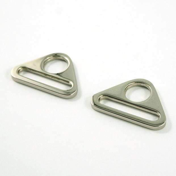 "1"" Triangle bag strap rings"