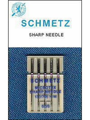Schmetz Microtex Needles (Size 80)