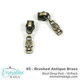 Emmaline Zipper Sliders with Pulls - *SIZE#5* (10 pack)
