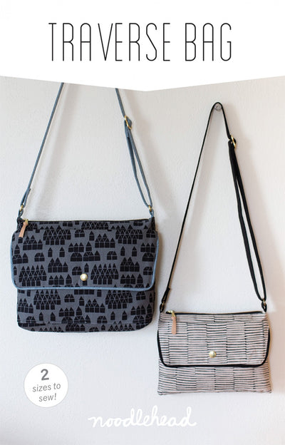Traverse Bag by Noodlehead (Printed Paper Pattern)