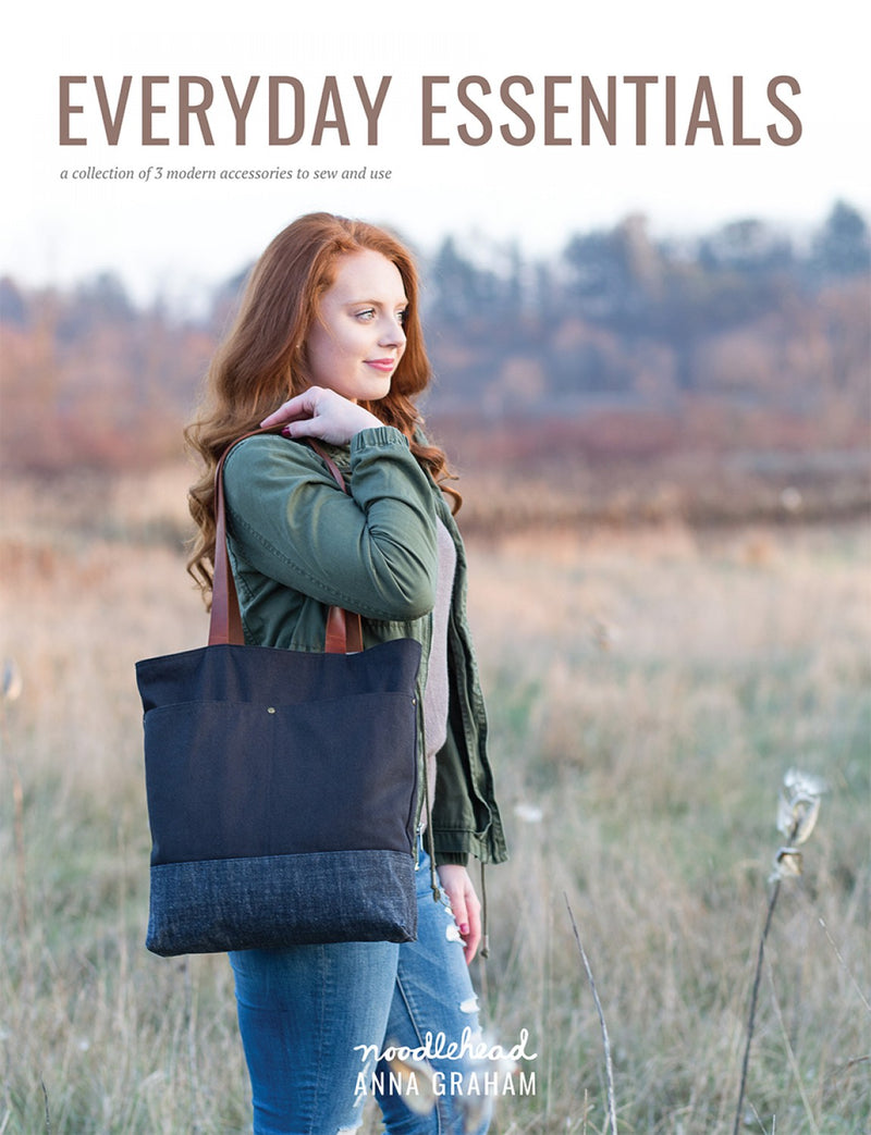 Everyday Essentials (3 patterns!) by Noodlehead (Printed Booklet)