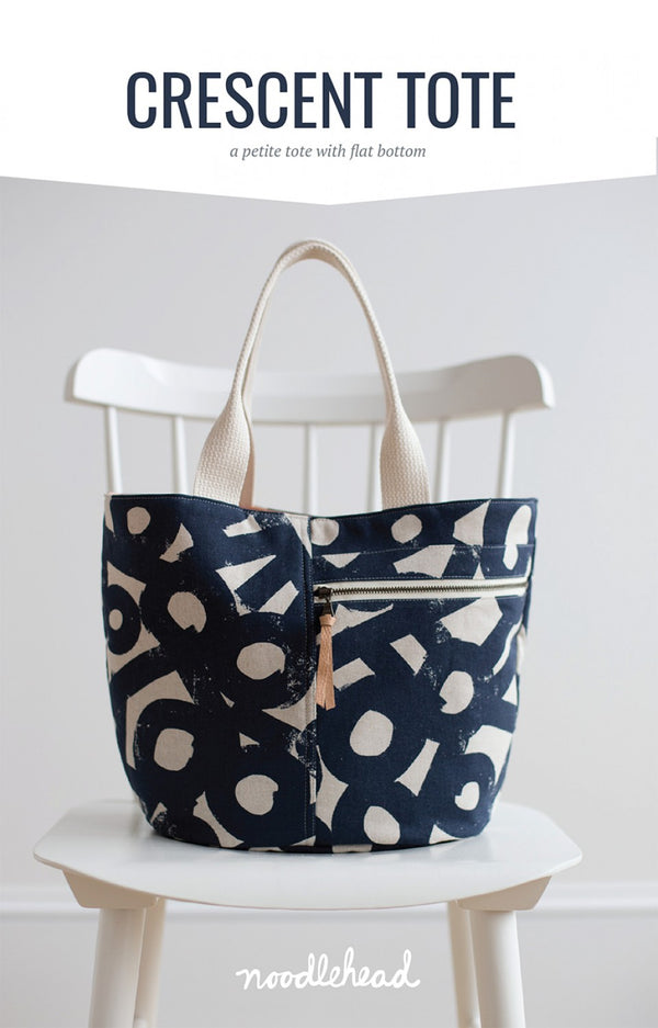 Crescent Tote by Noodlehead (Printed Paper Pattern)