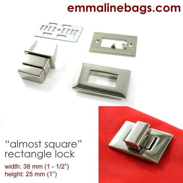 Rectangular Bag Lock image