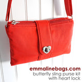 Hardware Kit: Butterfly Sling Purse (4 Variations)