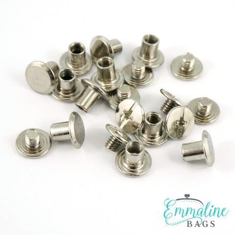 CHICAGO SCREWS:  Available in 3 Sizes and 5 Finishes (50 Pack)