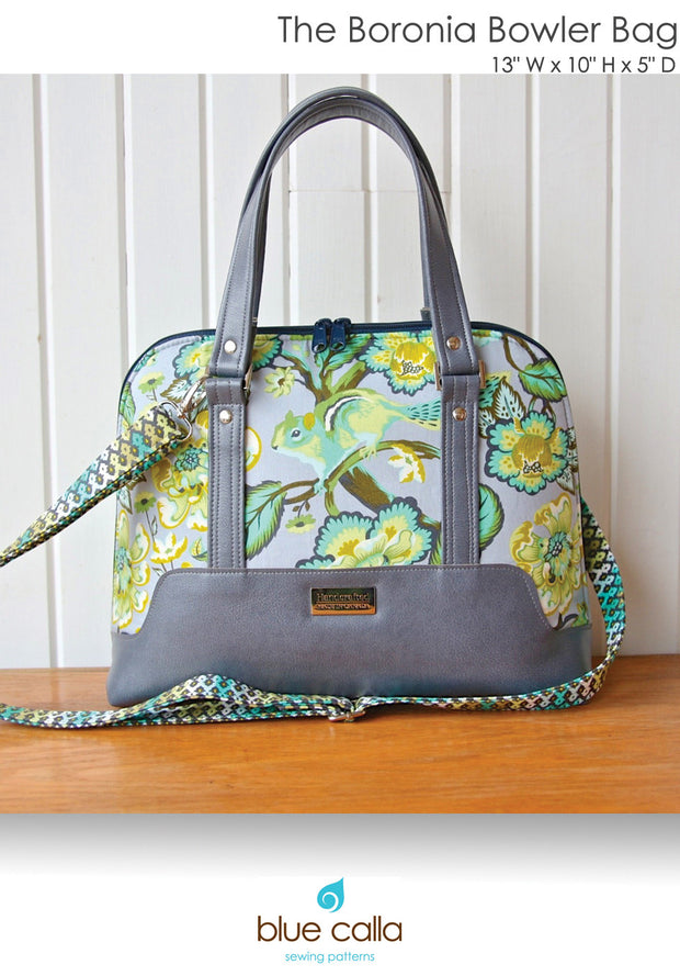 Hardware Kit: The Boronia Bowler Bag by Blue Calla Patterns