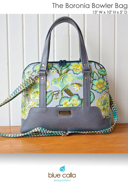 The Boronia Bowler Bag By Blue Calla Sewing Patterns