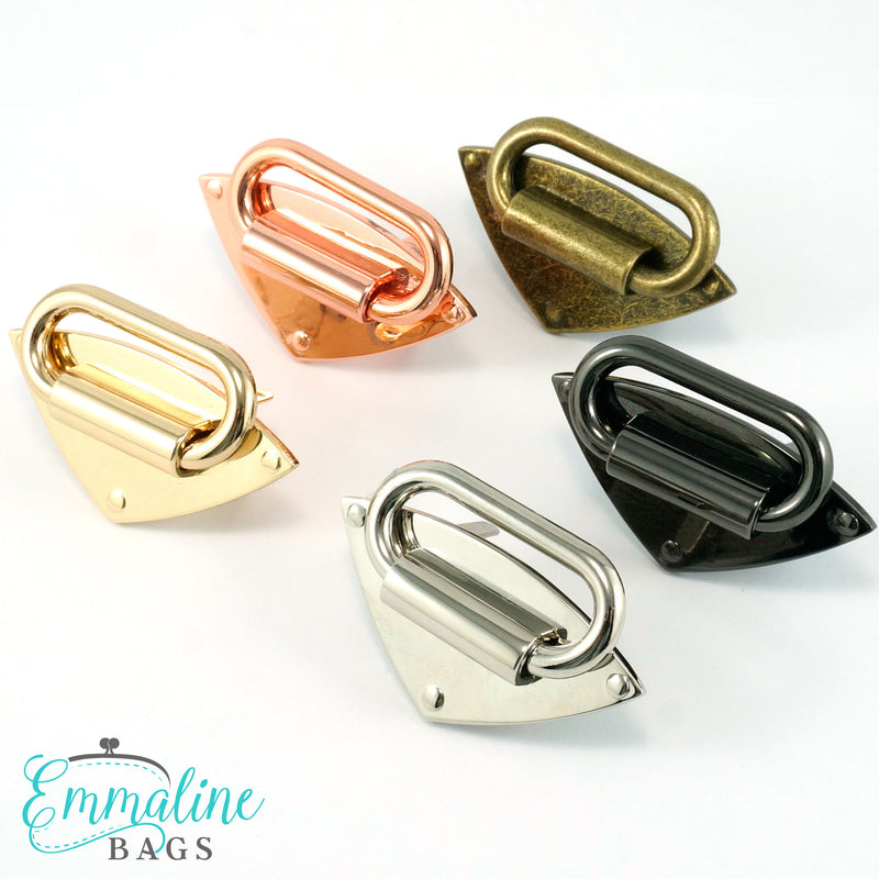 "Strap Anchor:  ""Diamond"" - in 6 Finishes (4 Pack)"