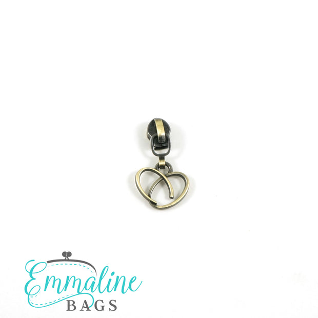 Emmaline Zipper Sliders with Pulls (10 pack)