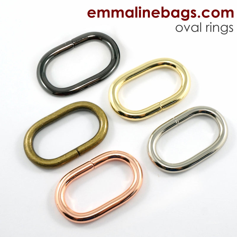 "OVAL O-Rings: 1-1/4"" (34 mm)  (4 Pack)"
