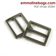 Flat Strap SLIDERS (2 Pack)