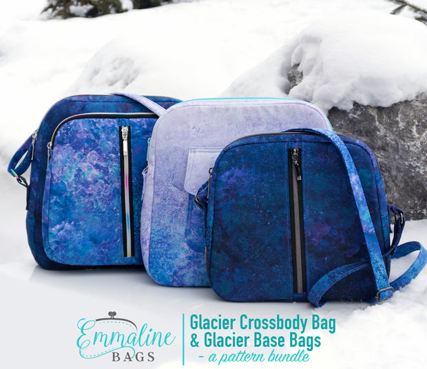 PDF Pattern - The Glacier Bag Bundle (2 patterns/3 Bags)