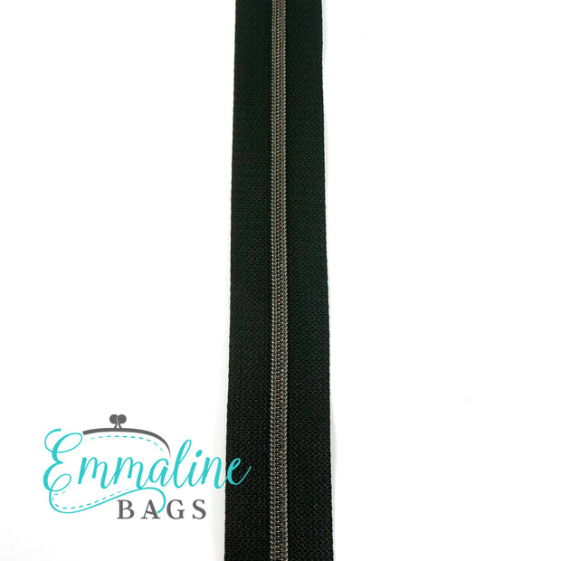 #3 & #5 Emmaline Zippers-by-the-Yard (No Pulls)