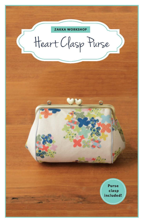 Zakka Workshop - Heart Clasp/Frame Purse Kit