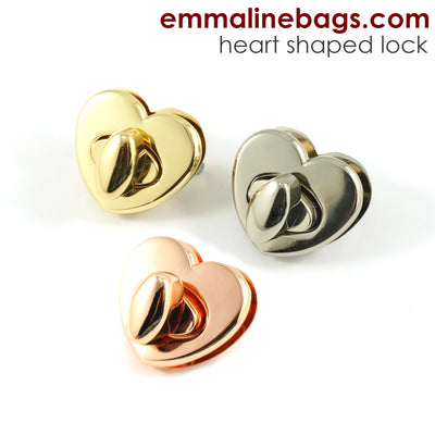 Heart Shaped Bag Lock