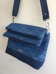 Paper Pattern - The Double Flip Shoulder Bag