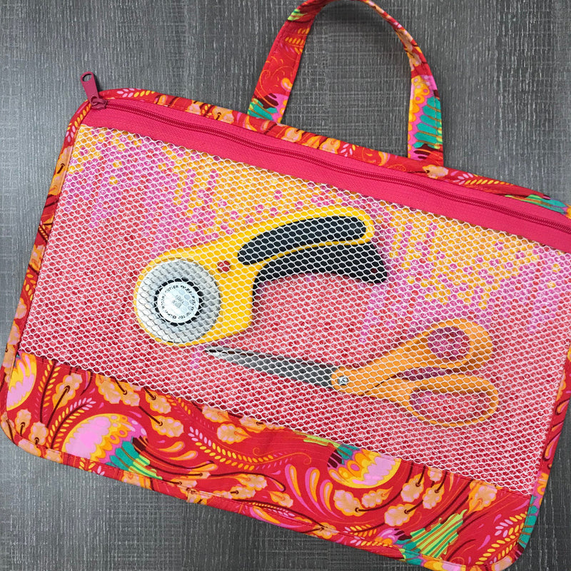 Piecekeeper Project Bag - COMPLETE KIT, Including Pattern, foam & Fabric!!