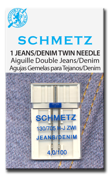 Schmetz Jeans/Denim TWIN NEEDLE (1, size 4/100)