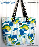 The Totes Ma Tote in Fun Pattern