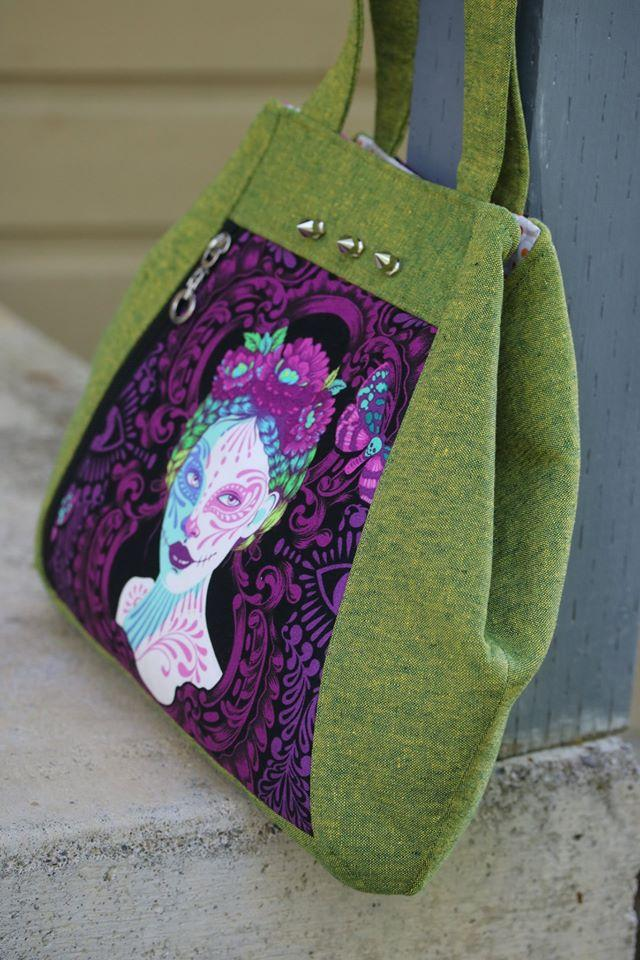 Rio Convertible Tote by UhOh Creations (Printed Paper Pattern)
