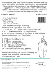 The Side Hustle by Sewing Patterns by Mrs H (Printed Paper Pattern)