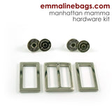 Hardware Kit: Manhattan Mamma (in Nickel, Antique Brass)